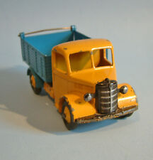 DINKY Meccano England 1948 BEDFORD END TIPPER 25m yellow/blue