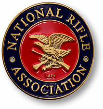 National Rifle Association NRA Hiking / Walking Stick Medallion
