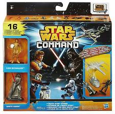 STAR WARS REBELS COMMAND EPISODE IV DEATH STAR STRIKE 16 FIGURES +VEHICLES!
