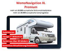 Navi per camper, 7 Pollici, Europa, GPS, womonavigation XL, dispositivo di navigazione