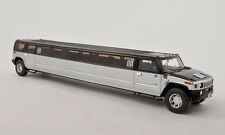 wonderful modelcar HUMMER H2 STRETCH-LIMOUSINE - 1/43 - silver/black - ltd.300