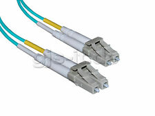 LWL Glasfaserkabel Patchkabel Fiber Optic LC-LC Duplex Multimode 60m OM3 Neu