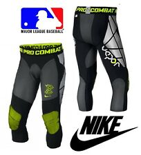 NIKE PRO COMBAT HYPERSTRONG COMPRESSION BASEBALL SLIDER TIGHT MEN'S SMALL S NWT