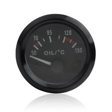 2 Inch 52mm Auto LED Car Pointer Oil Temperature Temp Gauge 50 - 150 Celsius