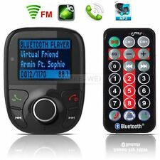 Auto MP3 Musik Player FM Transmitter Freisprechanlage USB TF AUX Bluetooth KFZ