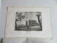 1787 WALDEN CASTLE ESSEX  ENGRAVING FRANCIS GROSE