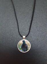 """Pigeon oiseau pendentif sur un 18"""" noir cord collier souvenir cadeau N378"""