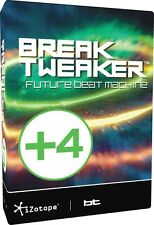 IZOTOPE BREAKTWEAKER EXPANDED WITH 4 SOUND LIBRARIES ***MAKE AN OFFER ***