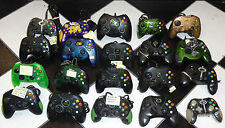 LOT OF 20 BROKEN ORIGINAL XBOX CONTROLLERS FOR PARTS OR REPAIR SOLD AS-IS