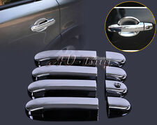 Chrome Door Handle Cover Trim for Nissan Versa Tiida Latio 2007-2012 2011 2010