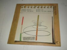 JIMMY LIONS & SUNNY MURRAY TRIO - JUMP UP/WHAT TO DO ABOUT - 2 LP HAT HUT REC. -