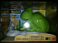 Scotch Magic Tape Dispenser - Chameleon - Changes Color - w 1 Roll of Tape New