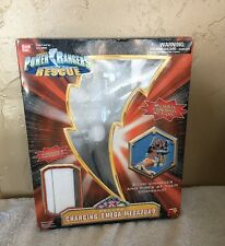 Power Ranger Light speed Rescue Deluxe Charging Omega Megazord Box Only