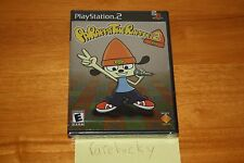 PaRappa the Rapper 2 (PS2 Playstation 2) NEW SEALED BLACK LABEL W/UPC, MINT!