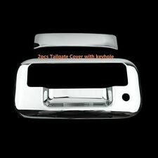 FOR FORD EXPLORER SPORT TRAC 2007-2009 CHROME TAILGATE COVER (WITH KEYHOLE)