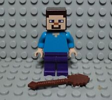 LEGO minifig Steve du set minecraft the farm 21114
