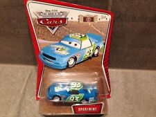 DISNEY PIXAR CARS - SPAREMINT #93 - PISTON CUP RACE CAR - NEW - RARE EARLY PACK