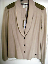 Scaline London Cotton Jersey Blazer - Large