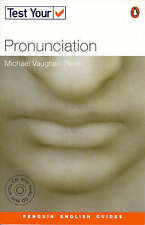 Good, Test Your Pronunciation: Book With Audio CD (Test Your): 1, Vaughan-Rees,