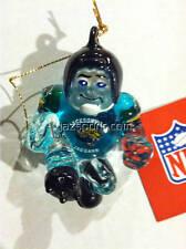 Jacksonville Jaguars Crystal Halfback Ornament