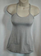 LULULEMON POWER Y TANK TOP SIZE 2 BEIGE