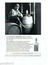PUBLICITE ADVERTISING 096  1994  Jack Daniel's whiskey  Richard MC Gee