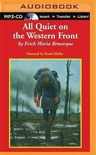 All Quiet on the Western Front by Erich Maria Remarque (2015, MP3 CD,...