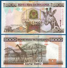 TANSANIA  / TANZANIA  5000 Shilingi (1997) UNC P. 32