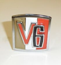 Jeep CJ 5 V-6  emblem !!!New!!!
