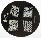 B Stamping Series Nail Art Image Stamp Template Plate New Bundle Monster BM XL