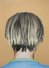 Affordable Fine Art Print ANDY WARHOL WIG Original Oil Painting Realism SIGNED