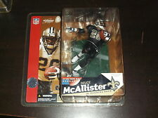 2003 DEUCE MCALLISTER VARIANT BLACK JERSEY MCFARLANE FOOTBALL FIGURE SEALED