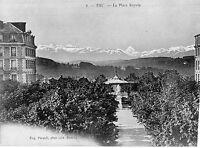 OLD POSTCARD -FRANCE- 8 - PAU - La Place Royale - Eug Pacault - c 1910