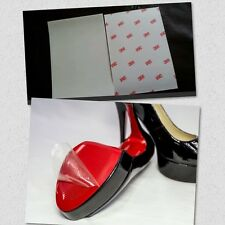 3M Heel Clear Sole Protector For Red Bottoms Louboutin And Designer Shoes 6X6