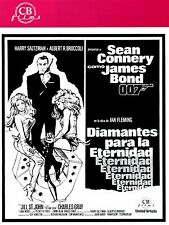 (PRESS BOOK ORIGINAL)1971 DIAMANTES PARA LA ETERNIDAD 007 JAMES BOND