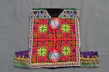 Kuchi AFGANO TRIBAL DE Choli Vintage Belly Dance Hecho A Mano stitchable Crop Top kc323