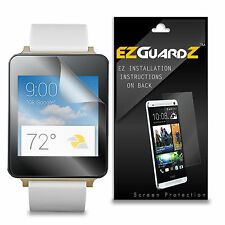 4X EZguardz LCD Screen Protector Skin Cover Shield HD 4X For LG G Watch (Clear)