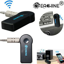 3.5mm AUX Wireless Bluetooth Car Kit Music Receiver Adapter For iPhone iPod HTC