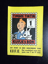 Grand point Timbre Tintin Kuifje's Bon