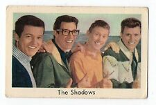 1960s Swedish Pop Star Card Cliff Richard Backing Instrumental Group The Shadows