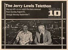 1975 WALB ALBANY,GEORGIA TV AD~JERRY LEWIS TELETHON~STAY UP ALL NIGHT