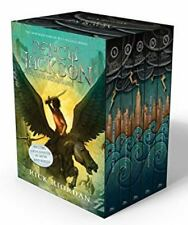 Percy Jackson and the Olympians Set by Rick Riordan (2010, Hardcover)