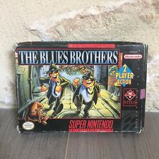 The Blues Brothers Super NES Nintendo SNES en Boite SNSP-B6-USA NTSC