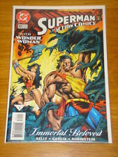 ACTION COMICS #761 NEAR MINT SUPERMAN WONDERWOMAN TOUGH JANUARY 2000