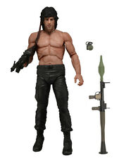 "John rambo first blood part ii (2) neca 7 ""action figure SYLVESTER STALLONE"