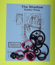 1994 Bally / Midway The Shadow pinball rubber ring kit