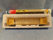 WALTHERS GOLD LINE HO SCALE TTZX 72' CENTER BEAM FLAT CAR LUMBER HAULING CAR