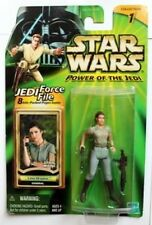 "Star Wars Power of The Jedi GENERAL LEIA ORGANA 3.75"" action Figure RARE"
