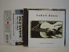 CeDell Davis The Best of CeDell Davis JAPAN P-VINE OBI CD