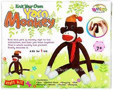 Hacer Punto Tu Propia Hilo Mono Croché Punto Cruz Juego De Manualidades Kit